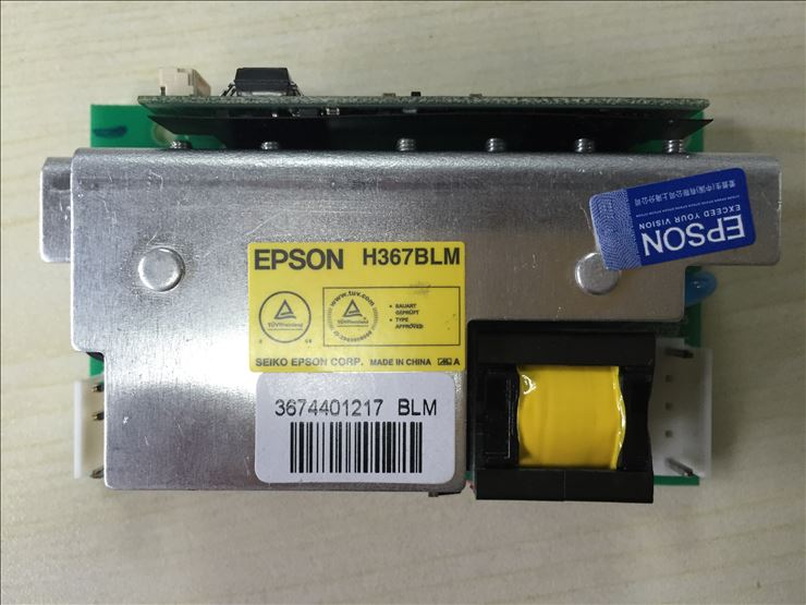 NEW Original H367BLM (Yellow label) ballast board for Epson Series projectors new original pkp k170a ballast board for epson projectors appearance is same can be used directly