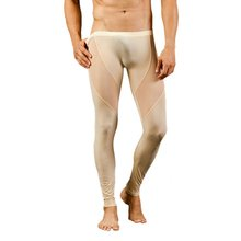 IMC SODIAL(R) Mens Mesh Breathable Long johns Pants Thermal Pants Underwear Trousers