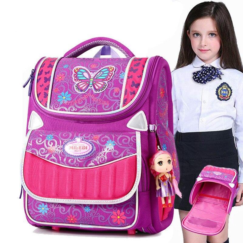 Sacs d'école pour enfants pour filles garçons sac à dos orthopédique enfants sacs à dos cartable école primaire sac à dos enfants cartable mochila