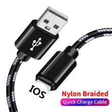 Get more info on the Fast Charge usb Data For iphone Cable Usb Nylon Braided 1m 2m 2.4A For Samsung Huawei Xiaomi Type C  Mobile Phone Charging Cable
