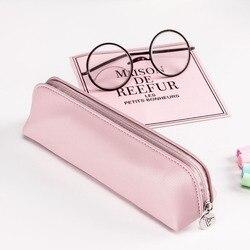 PINKY piórnik kolekcja PU różowa kolorowa torba na cukierki piśmiennicze Etui karne