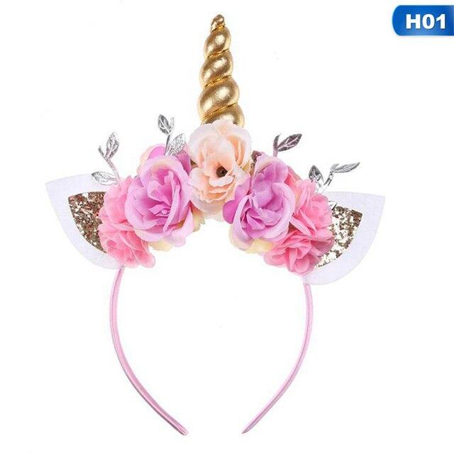 e88981a04 Cute Kawaii Children Rainbow Unicorn Horn Hairband Kids Chiffon Unicorn  Headband Glitter Hairband Easter Bonus Hair Accessoriess-in Hair  Accessories from ...