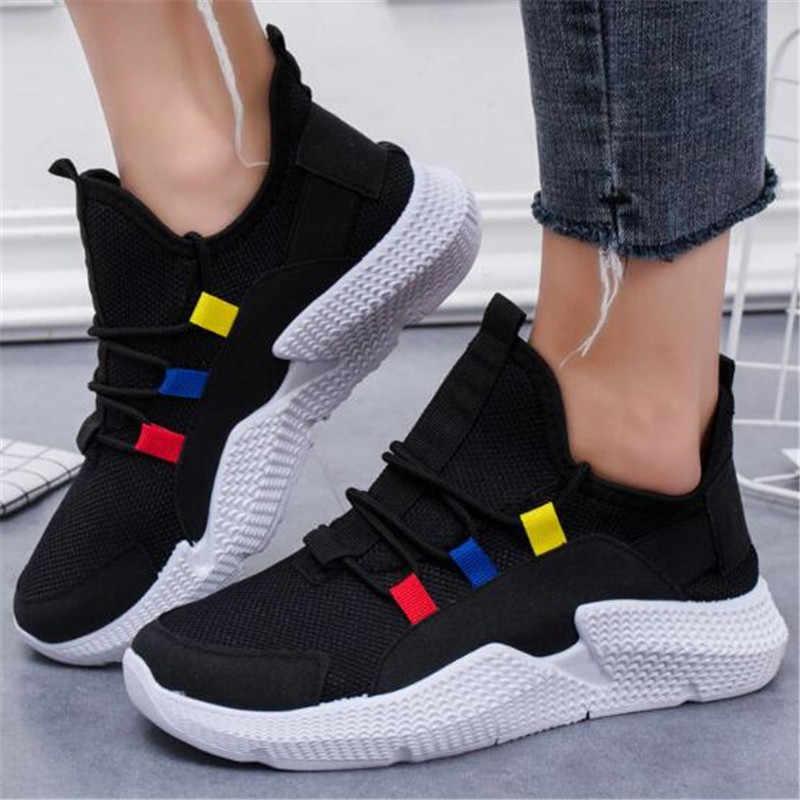 Oeak 2019 Women Shoes Size 36-40 Men Sneakers Summer Breathable Krasovki Shoes Casual Shoes Male Tenis Masculino Sneakers