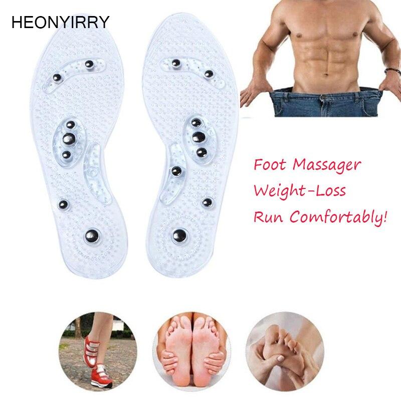 1 пара обуви гелевые стельки ноги Магнитная терапия здоровье и гигиена для мужчин комфорт колодки Уход за ногами Релаксация подарки