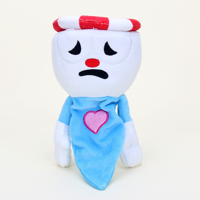 1 piece 22 28cm Game Cuphead Plush Toys Doll For kids