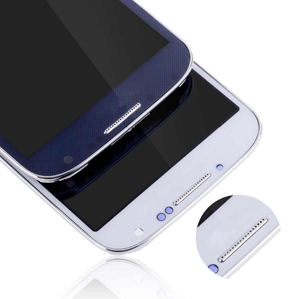الأصلي شاشة لسامسونج غالاكسي S4 LCD محول الأرقام لسامسونج غالاكسي S4 i337 i9500 i9505 شاشة إل سي دي باللمس غيار للشاشة