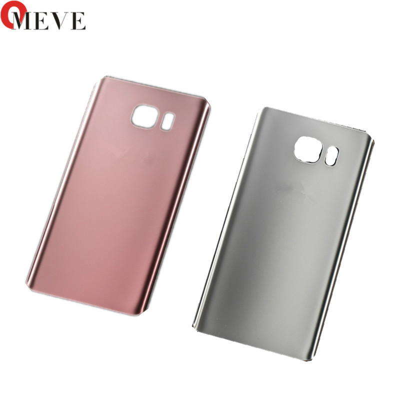 50pcs 100% Original DHL Cover Housing For SAMSUNG Galaxy Note 5 N920 N920F Mobile Phone Note5 N920F Battery Cover Case Parts