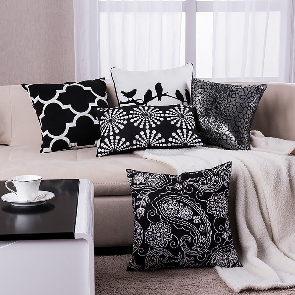 Superieur Black Pillow Geometric Cushions Decorative Throw Pillows Sofa Cushion Modern  Chair Pillow Free Shipping In Cushion From Home U0026 Garden On Aliexpress.com  ...