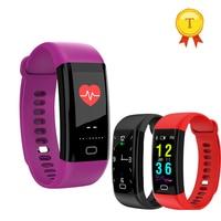 Pulsera inteligente a prueba de agua para hombre y mujer Larga modo de reposo Monitor de ritmo cardíaco y presión arterial reloj de pulsera inteligente para ios y android
