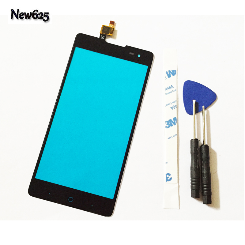 5.5 Mobile phone Touch Screen Digitizer For ZTE Nubia Z9 Max NX510J Touch Panel Touchscreen Sensor Front Glass Lens 3M Stickers