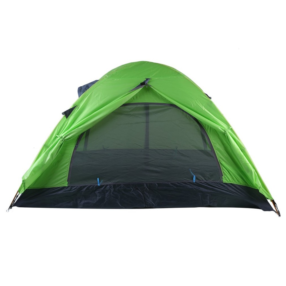 2 Person Waterproof Camping Tent Lightweight Windproof Pop Up Anti UV Awning Tent Outdoor Beach Fishing Hiking Tourist Tent+Bag outdoor summer tent gazebo beach tent sun shelter uv protect fully automatic quick open pop up awning fishing tent big size