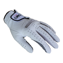 Free Shipping Genuine Leather Golf Gloves Men's Left Right Hand Soft Breathable Pure Sheepskin Golf Gloves Golf accessories
