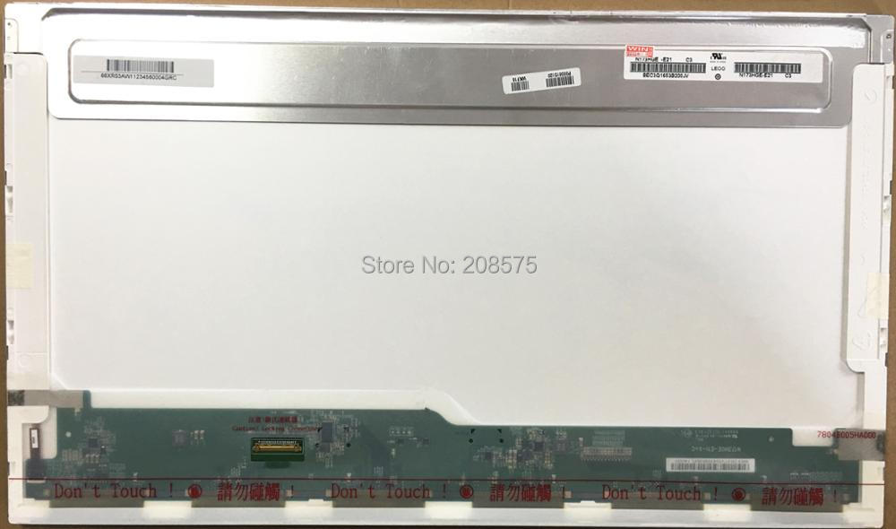 Free Shipping N173HGE-E21 N173HGE-E11 B173HTN01.1 Laptop Lcd Screen For ACER E3-772G DELL V370 V3700 1600*900 EDP 30pin n173hge e11 b173htn01 1 led lcd laptop screen 1920x1080 fhd panel display edp 30pin 17 3