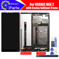 6.0 inch Vernee Mix 2 LCD Display+Touch Screen + Frame 100% Original Tested Digitizer Glass Panel Replacement For Mix 2 Phone