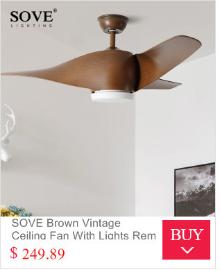 Sove brown vintage ceiling fan with lights remote control payment aloadofball Image collections