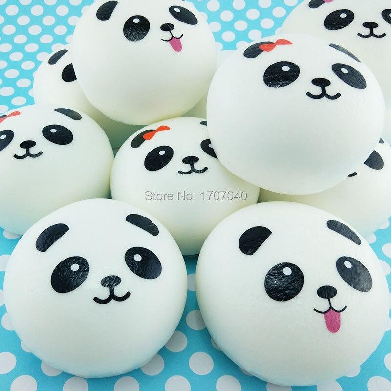 Squishy Mushy Panda : Aliexpress.com : Buy 20PCS 10CM Jumbo White Panda Squishy Simulation Food Kid Toy Collectibles ...