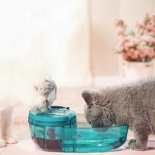 Автоматический фонтан для кошек, собак, Электрический фонтан для домашних животных, миска для питья домашних животных, миска для питья кошек, диспенсер для питьевой воды