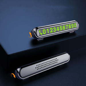 Car-Parking-Card Number-Card Telephone Night-Light with Temporary