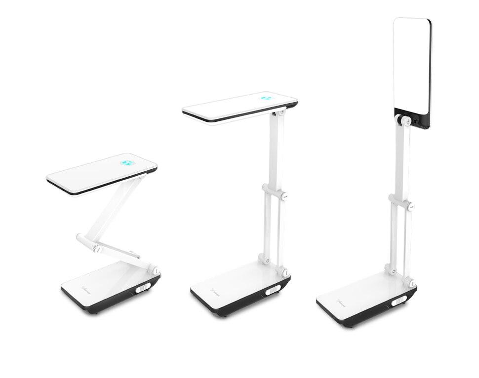 YAGE Led Desk Lamps Night Light Foldable LED Table Lamp 1050mAh Battery in Table Light Flexible Three Modes Mini Lamp Flash Deal 14