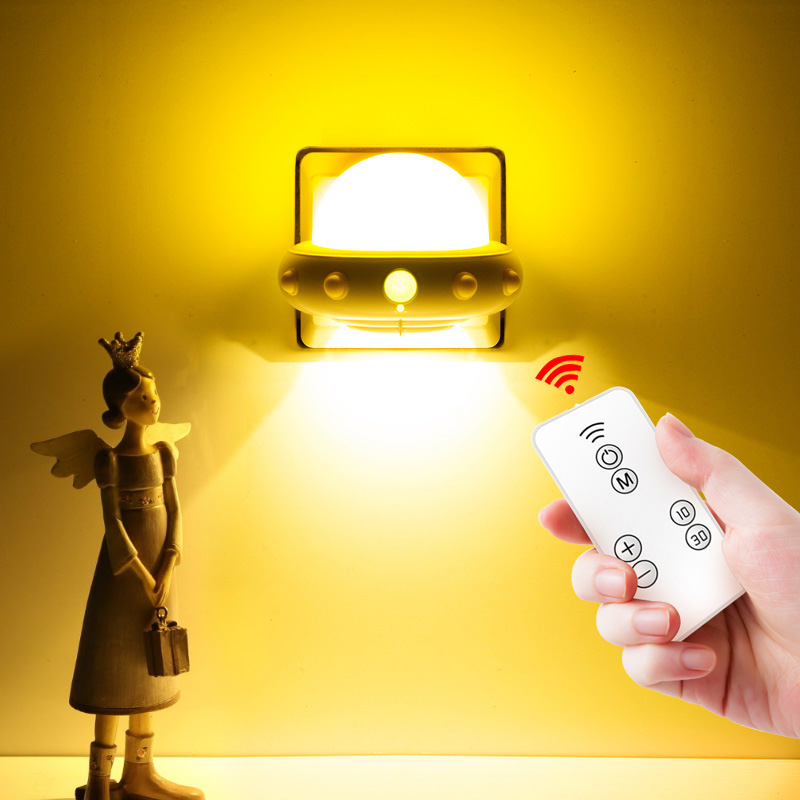 Security & Protection Alert Remote Control Led Lamp Bedroom Bedside Light Child Bed Sleep Lamp For Baby Feeding Washroom Urine Mini Wall Sleep Light Orders Are Welcome.