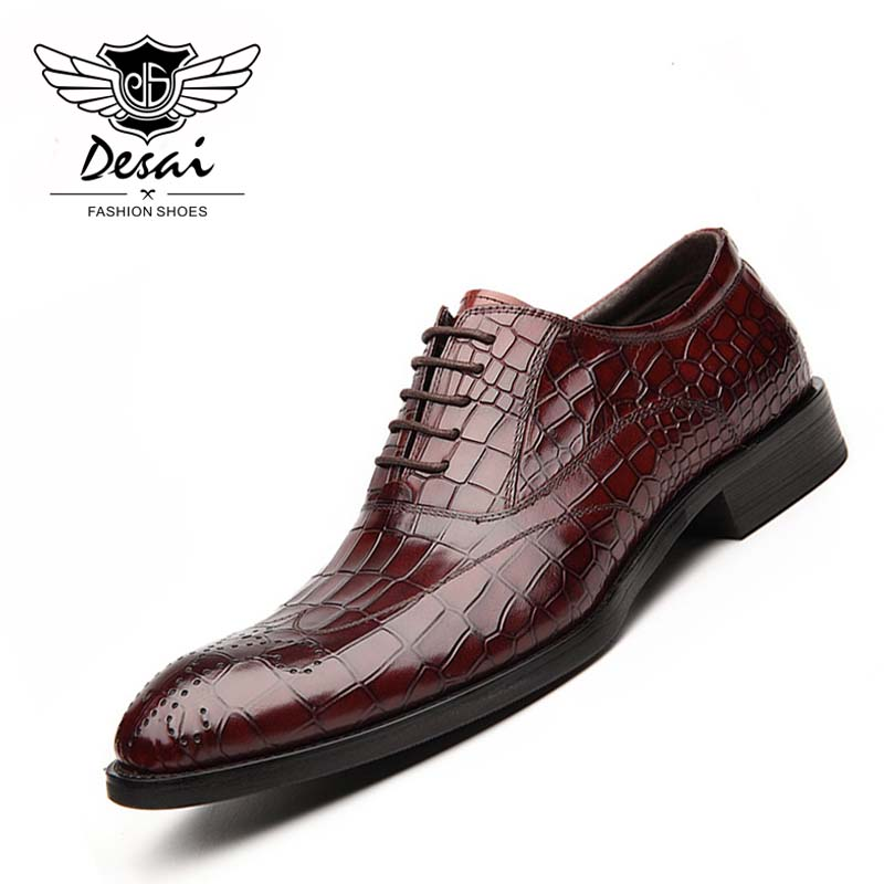 New Arrival Genuine Leather Casual Shoes Men Cow Leather Business Dress Shoes Fashion Lace Up Formal Shoe for Man new fashion men shoe genuine leather lace up mixed colors man dress business casual shoes zapatillas deportivas zapatos hombre page 5