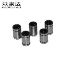 5PCS/LOT LM8UU 8mm linear ball bearing Linear Bearing 8mm 3d printer parts LM8 CNC Parts
