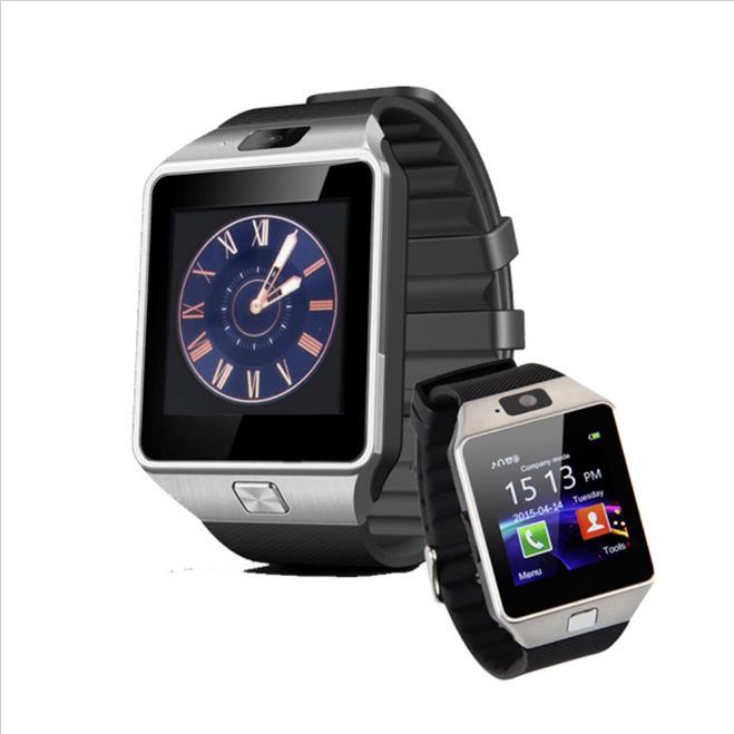 DZ09 Bluetooth Smart Uhr mit box Männer Frauen Freies Verschiffen für Android-Handy Unterstützung SIM/TF Karte Sport Armbanduhr