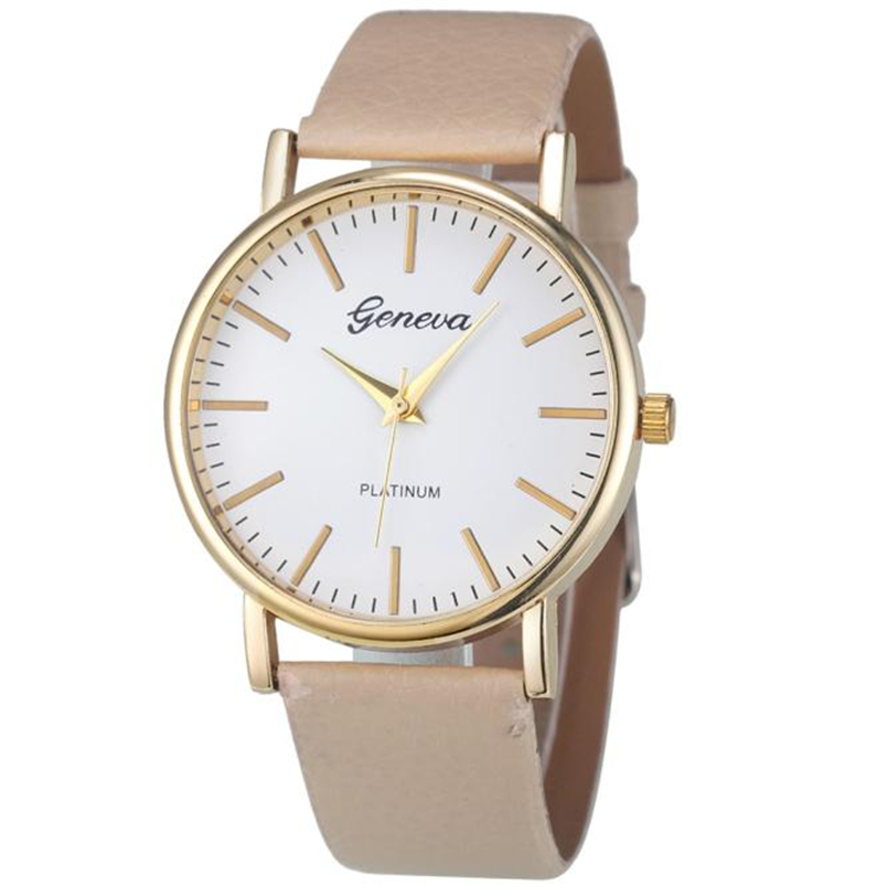 ᑎ cheap wrist geneva fashion simple