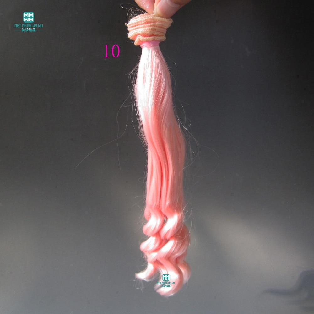 1kom 20cm * 100cm Veliki valovi kovrče Doll perika Pribor kose za - Lutke i pribor - Foto 4