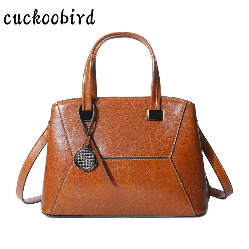 New 2018 Luxury Genuine Leather Women Handbag Leather Shoulder Bag Female Crossbody Bag for Women Messenger Bags Tote Casual Bag whx new style casual fashion women tote bag crossbody bag female shoulder messenger bag leather cartoon cat bear sequin handbag