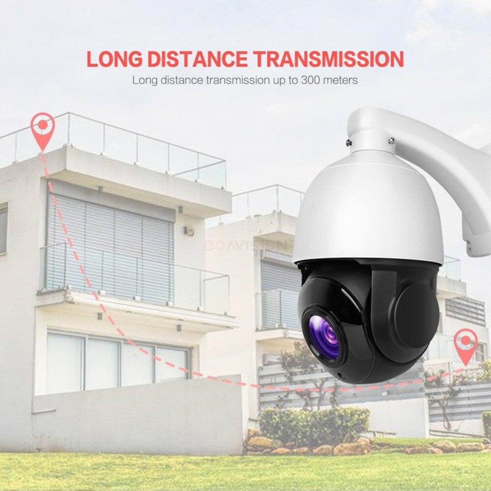 4.5 pouces 1080 P AHD PTZ caméra dôme 2MP 30X Zoom IR 50 M sécurité CCTV AHD caméra extérieure étanche caméra de Surveillance vidéo - 2