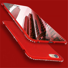 ZNP Lüks Elmas Glitter Mat Telefon Kılıfları Için iPhone 8 7 6 Artı X Rhinestone Silikon Kapak Case X 10 8 7 6 Kılıf