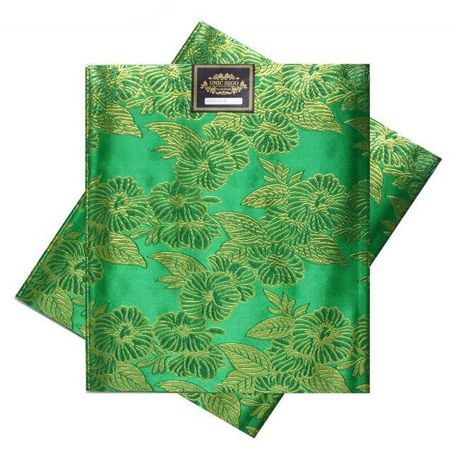 SL-1509, מכירה לוהטת, אפריקאי סגו headties, Gele, 2 יח'\סט, באיכות גבוהה, צבעים רבים זמין, ניגריה ירוק