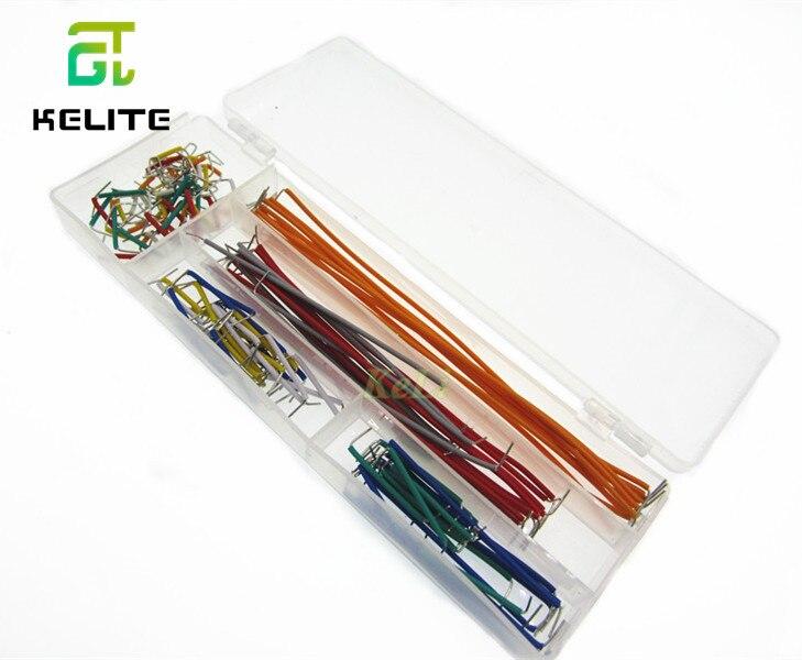 HAILANGNIAO 140 Pcs U Shape Solderless Breadboard Jumper Cable Wire Kit Shield For Raspberry Pi 3 Drop Shipping