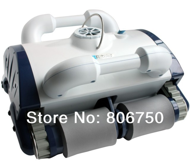 Automatic Swimming Pool Cleaner Robot With Remote Control, Wall Climbing Functions