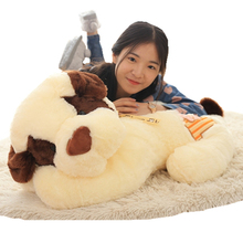 Cute Stuffed Plush Animals Soft Comfort Toy Dog Neck Pillow Doll Oyuncak Bebek Baby Gift Toutou
