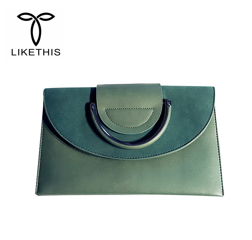 Women Messenger Bag Leather Clutch Purses Evening Ladies Envelope handbags Wedding Purse Party Handle Clutch Bag For Women Sac A