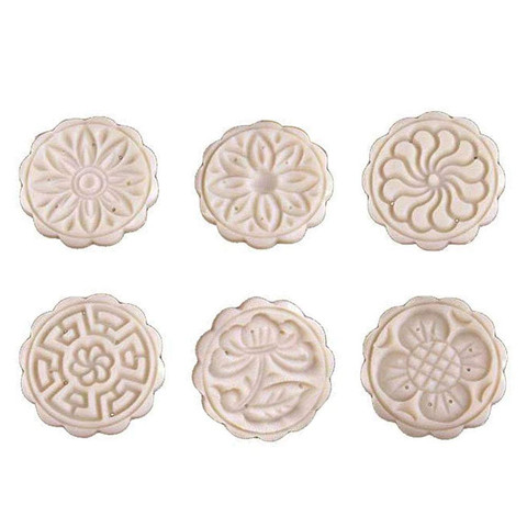 Dropshipping Mooncake Mold Flower Mid-autumn Festival Hand Press Moon Cake Cutter Molds Set Lahore