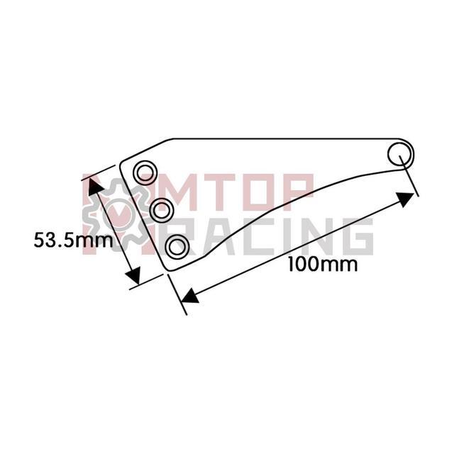 Motorcycle Headlight Mount Bracket For Harley 30mm 33mm 35mm 37mm 38mm 39mm 41mm 43mm 45mm 46mm 48mm 49mm 50mm 52mm Fork Tubes