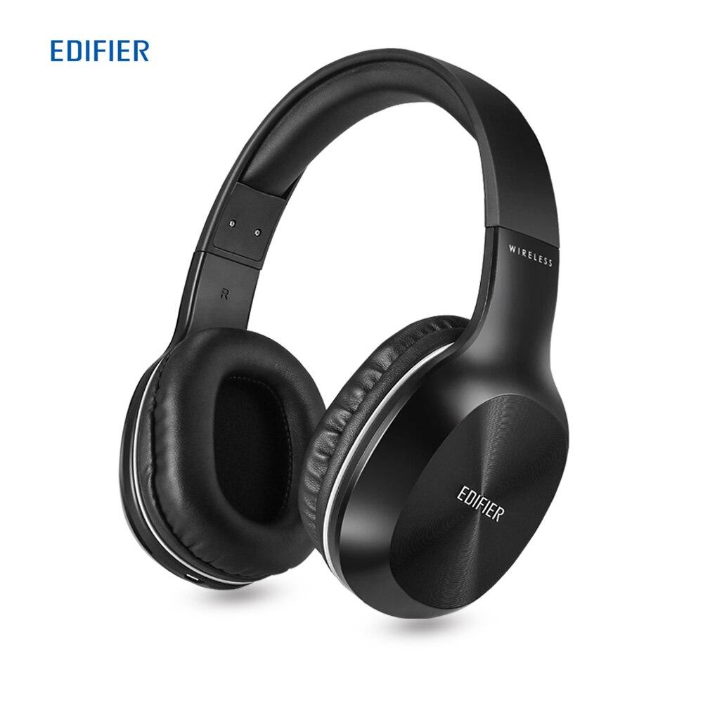 EDIFIER W806BT casque sans fil Bluetooth sur l'oreille casque stéréo musique 70 heures de jeu avec Microphone intégré écouteur