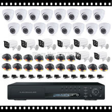 HKES CCTV System 24CH AHD DVR 1080N with IR Evening imaginative and prescient Surveillance Digital camera Outside Indoor