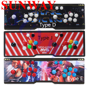 Arcade 5S TV Game Console 999 in 1 Multi-games Jamma Games joystick Support HDMI VGA Output for TV And USB To PC