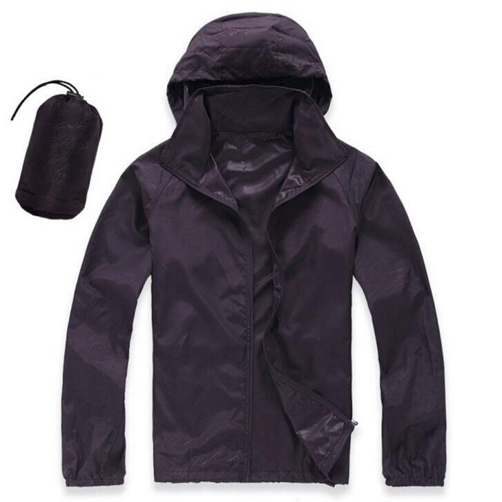 Fifteen Colors Long Sleeve Outdoor Quick Dry Skin Windbreaker Sport Jackets Camping Sports Waterproof Climbing Hiking Jacket