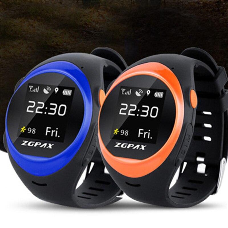 Yaşlı yetkinlər üçün idman Smart Watch SOS Təcili zəng GPS İzləmə Onlayn itirilmiş Əleyhinə İşıq və İşıq Telefonu