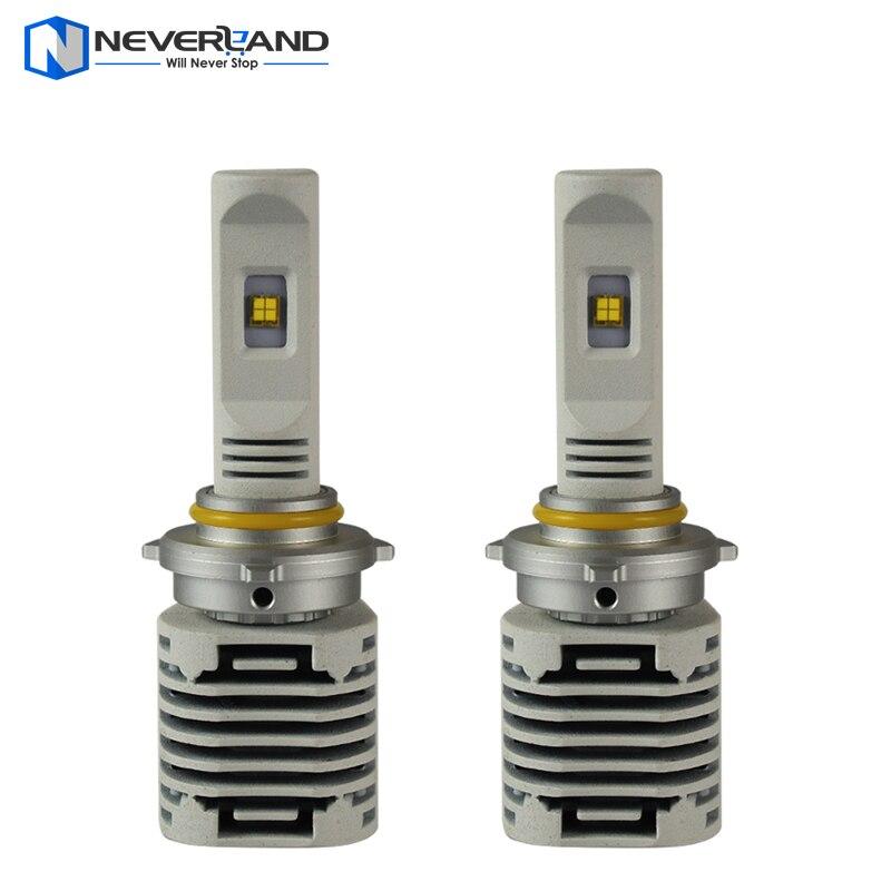 ФОТО 2pcs 9006 HB4 80W/set Auto Car LED Headlight Bulbs 12000LM 6000K White Fog Lamp DRL Free Shipping