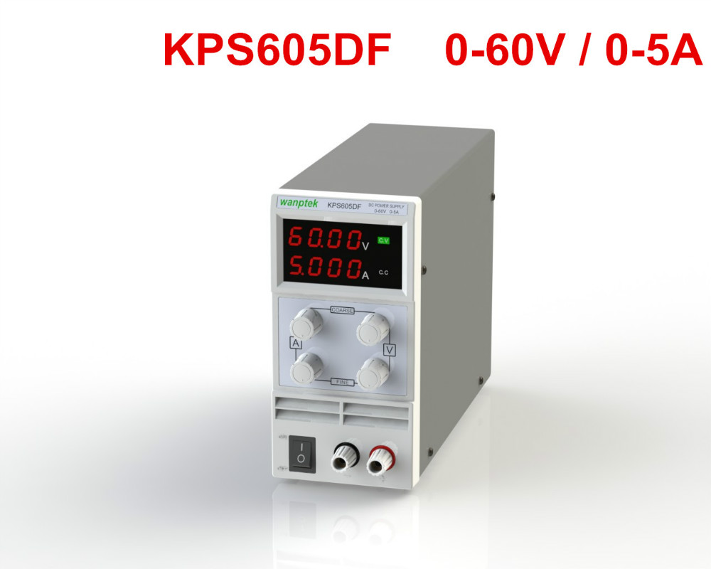 ФОТО  KPS605DF Adjustable High precision LED display switch DC Power Supply protection function 60V2A 3A 5A 0.01V 0.001A