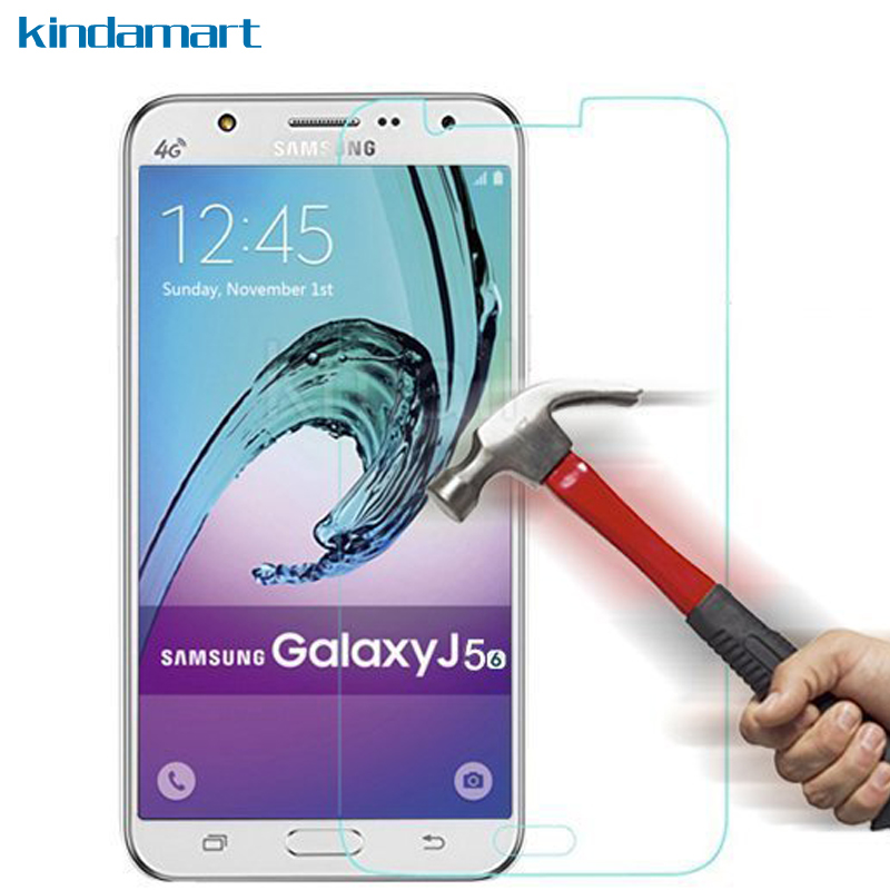 Galleria fotografica 2-Pack J5 Glass Screen Protector 2.5D 9H hard Tempered Glass For Samsung Galaxy J5 2016 J510H J510FN J500H Glass Guard Film