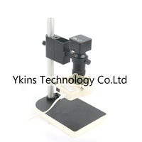 HD 5.0MP CMOS USB 3.0 High Speed USB Video Industry Digital Microscope Camera +100X C Bayonet Lens +56 LED Light + Bracket