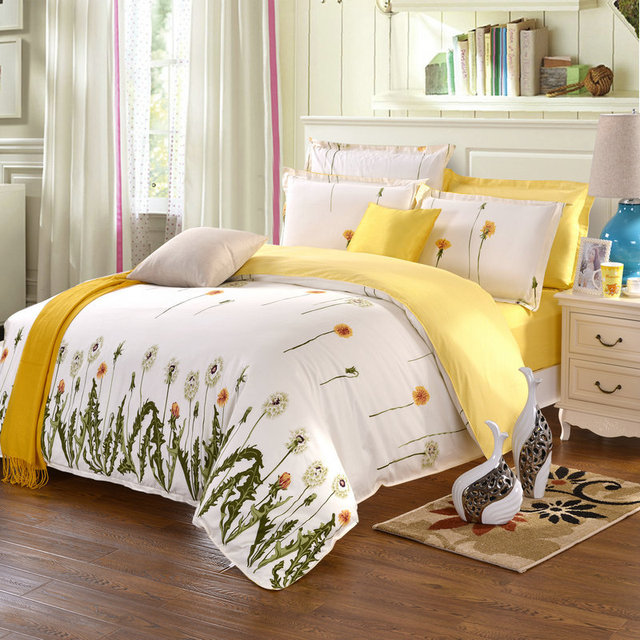 beach themed bedding yellow comforter sets cheap bed sheets cotton
