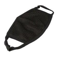 1 шт. черная хлопковая противопылевая велосипедная маска для мужчин и женщин, зимняя уличная Беговая велосипедная одежда для велоспорта закрывает половину лица от загрязнения
